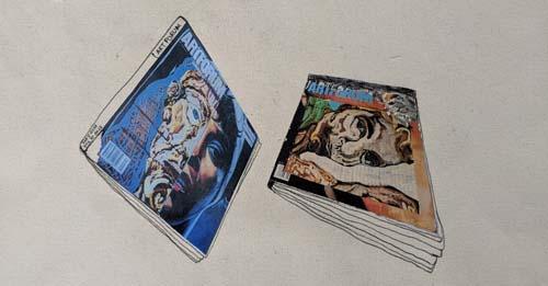 cover of artforum
